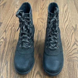 The Sorel Lexie Wedge Boot - Womens, Black, 8.5m